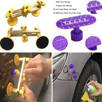 Car Paintless dent REPAIR Removal tools & Puller Tabs Kits 24pcs Size Glue Tabs