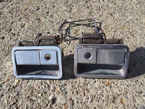 OEM Mopar E-Body 1970-1974 Plymouth Cuda Pair of Door Handles #2999820 #2999821
