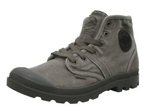 Palladium Pallabrouse Men's 02477-029 Canvas Ankle  Boots Brand New