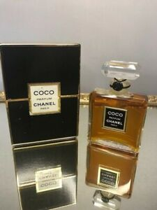 Coco Chanel pure parfum 15 ml. Rare, vintage first edition. Crystal bottle.