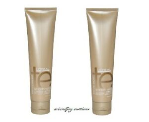 Lot of 2 New L'Oreal Texture Expert Smooth Velours Smoothing Lotion Medium Hair