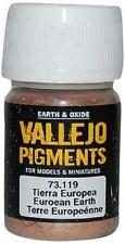 Vallejo European Earth Pigment for Models & Miniatures 30ml VAL 73119