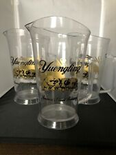 Yuengling Puppes Plastic Pitcher Set Of 3, 9 1/4�