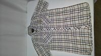 Mens Colorado Shirt, Short Sleeves, Size S, Cotton, Plaid / Check