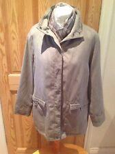 LadiEs,size 16.Debenhams Collection.Taupe/beige coat/jacket.Suede look/effect.