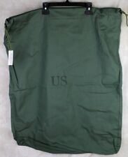 NWT GENUINE US ARMY MILITARY BARRACKS LAUNDRY CLOTHES BAG - GREEN