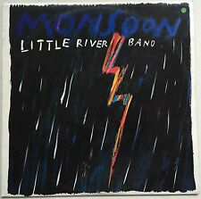 LITTLE RIVER BAND Monsoon 1988 OZ MCA EX/EX