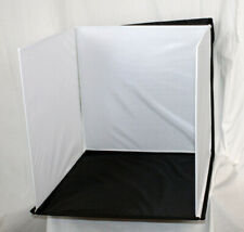 Portable Photo Studio Box Folding Table Top Photography With Lights & Case New