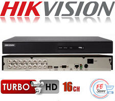 HIKVISION DS-7216HGHI-F1 16 Ch DVR (NO HARD DRIVE) HD 1080P TurboHD .New In Box.
