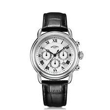 Rotary GS05330-21 White Canterbury Chronograph Wristwatch