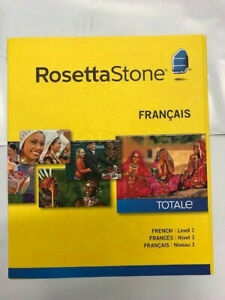 Rosetta Stone French (Francais) Level 1 Version 4 for PC, Mac NEW!