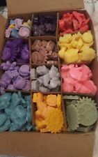 Wax melts Handmade Tart burner Different Scents Colours Shapes 25  Pack Homemade