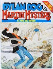 """DYLAN DOG & MARTIN MYSTÈRE """"La fine del mondo"""" ottobre '92 buono"""