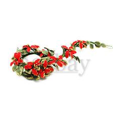 Miniature Christmas Decorations Polymer Clay Wreath 1:12 Dollhouse Mini Scale