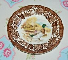 Royal Worcester Palissy Game Birds Series Mallard Duck Side Plate 17.5cms,