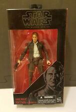 "Star Wars ""Force Awakens"" The Black Series 6"" Han Solo #18 HTF"