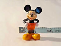 Vintage Walt Disney Mickey Mouse Figurine Pencil Topper ~ Ships FREE
