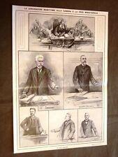 Roma nel 1910 Convenzioni marittime e crisi ministeriale + Processo Tarnowska