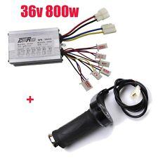 36V 800W Brush Motor Speed Controller Throttle For Electric E-bike Scooter ATV