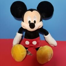 """New listing Mickey Mouse Plush Soft Toy Disney Store Exclusive 17"""" Disney Patch Stamp"""