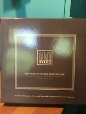 NEW VINTAGE AVON CENTENNIAL JEWELRY CASE 100TH ANNIVERSARY OF AVON PRODUCTS, INC
