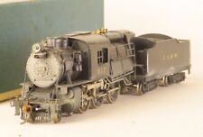 Red Ball HO Brass Central RR of NJ 4-6-0 Camelback Second Edition DCC Private RD
