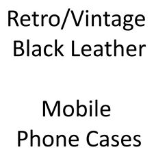 LEATHER CASE/Cover for YOUR Retro/Vintage Mobile Phone [CHOOSE FROM A BIG LIST]