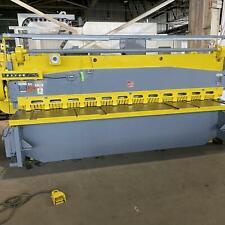12 X 38 Lodge Amp Shipley 0612 Sl Mechanical Shear Stock 0307817
