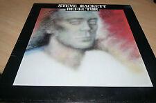 STEVE HACKETT - DEFECTOR - ORIGINAL CHARISMA LP - CDS4018 - EX/EX SILLY CHEAP!
