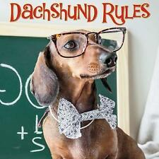 Dachshund Rules by Willow Creek Press (Hardback, 2017)