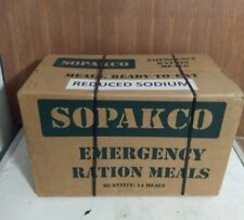 Sopakco MRE Meals Ready To Eat Case 14 Survival Emergency