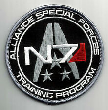 Mass Effect 3 Alliance Special Forces Training Program logo-patch ricamate