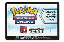 50x Pokemon Boundaries Crossed Code Card for Pokemon TCG Online Booster Packs