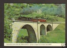 ANNOT (04) TRAIN à VAPEUR sur VIADUC de la BEITE