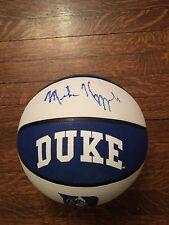Mike Krzyzewski Autographed Basketball Coach K Duke Blue Devils