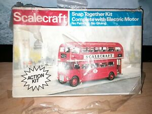 Scalecraft Routemaster Bus. Motorised. Boxed.