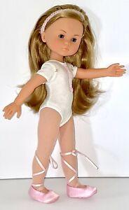 """Corolle Les Cheries Camille Ballerina Doll 13"""" 2001 J10B"""