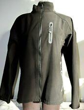 Men's U-Topik Ski Wear Black Soft Shell High Performance Jacket Size XXL