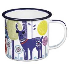 Day Enamel Mug in the Folklore Collection by Wild & Wolf