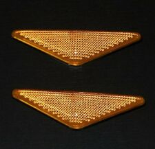 FORD FOCUS 98-04 MONDEO 00-07 SIDE WING INDICATOR LIGHT REPEATERS PAIR AMBER L+R