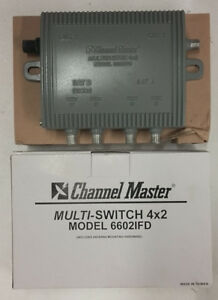 Channel Master Multi-Switch 4x2