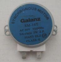 Galanz SM-16T motore sincrono gira piatto x forno microonde 5/6 g/min AC 30V N16