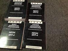 2005 Dodge MOPAR Neon SRT-4 Shop Service Repair Manual SET W Diagnostics OEM