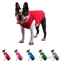 Haustier Hund Warm Weste Jacke Kleidung Welpen Soft Fleece Mantel Kostüme Winter