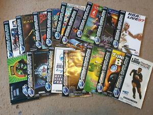 Over 15x Sega Saturn Manuals, All £3.99 Each With Free Postage, Trusted Shop