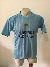 Maglia calcio manchester city football shirt mathias trikot jersey vintage