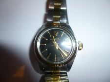 ROLEX 1985 VINTAGE OYSTER PERPETUAL AUTOMATIC 2130 STEEL GOLD LADIES WATCH 6700