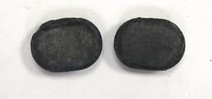 2018-2020 Chevy Equinox Rear Lift Gate Hole Plug Black Rubber 2pcs New 25701147