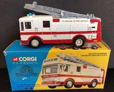 "Corgi Classics 1:50 LEYLAND ""ST. HELENS"" EMERGENCY FIRE TENDER TRUCK #21901 MIB!"