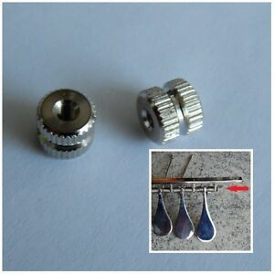 Rändelmutter M3  für Blasinstrumente / Druckwerkleiste 20 Stück